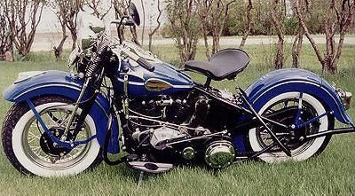 1946 Harley-Davidson Knucklehead  {yes.yes.yes}