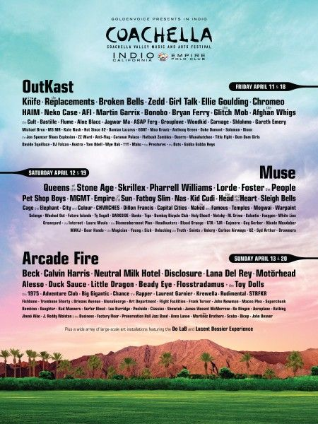 Coachella 2014 | I'm going to be there with my girls in 8 weeks time  EEEEEEEKKKKKKKKKKK :)