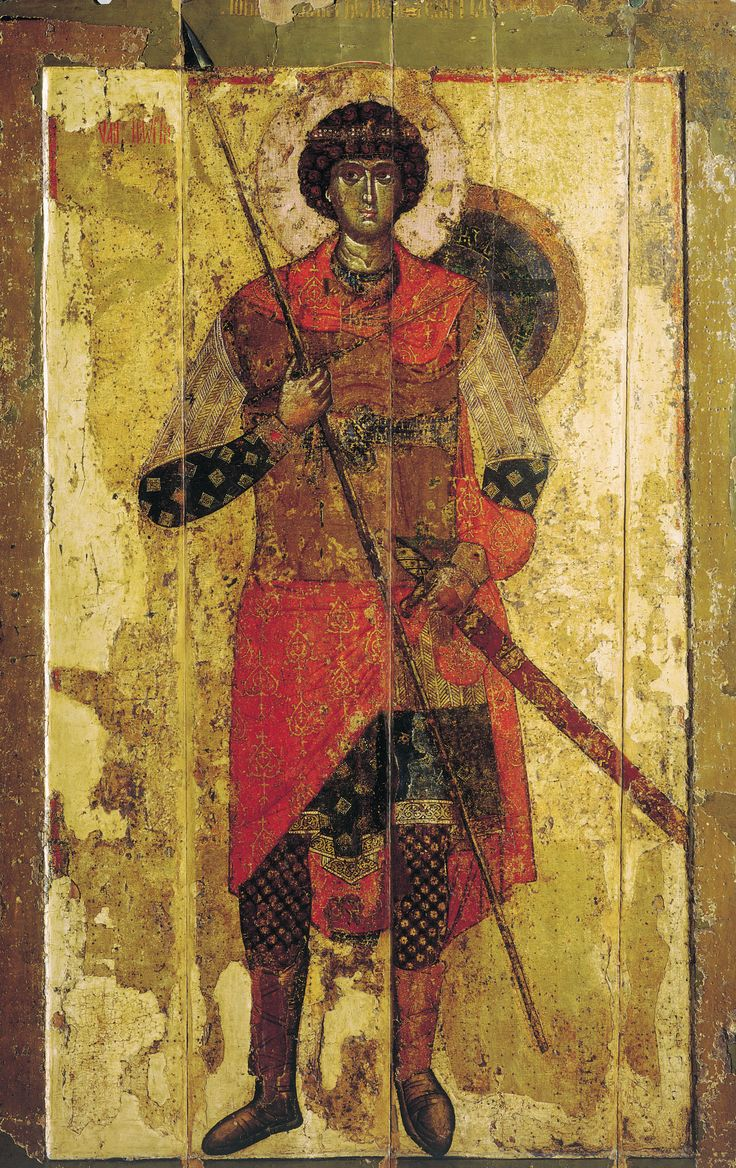 Saint George (icon, 1130) - Wikipedia, the free encyclopedia
