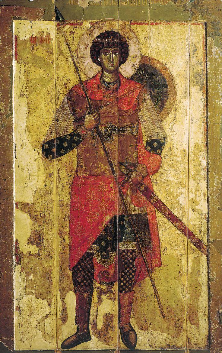 Saint George (icon, 1130) - Wikipedia, the free encyclopedia