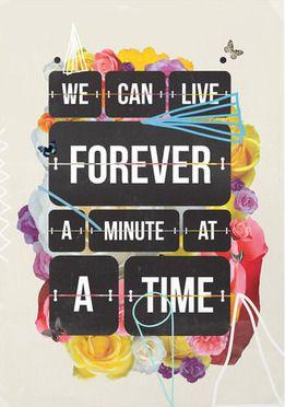 One Minute Art Print