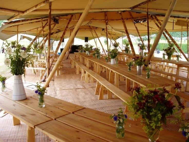 Wedding Tipis / Wedding Style Inspiration / LANE