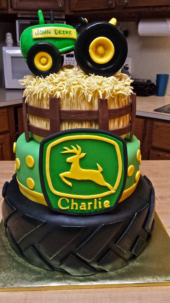 Love this cake! Absolutely the cutest John Deer Cake I have ever seen!
