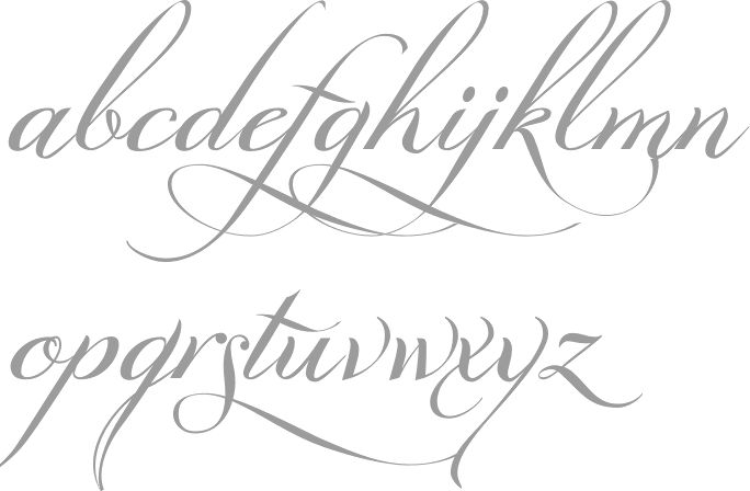 copperplate tracing template