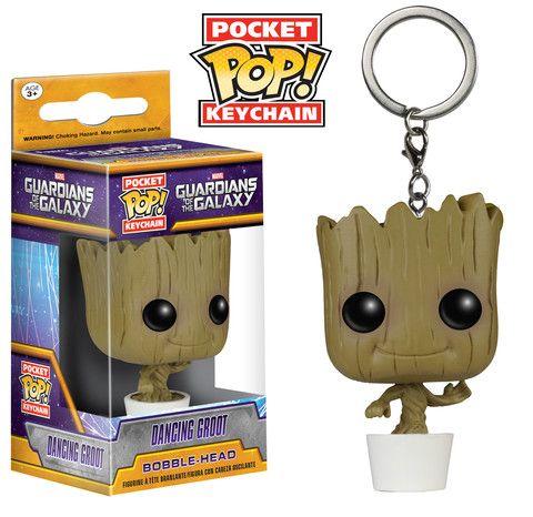 Pocket Pop! Keychain: Guardians of the Galaxy - Dancing Groot | Funko