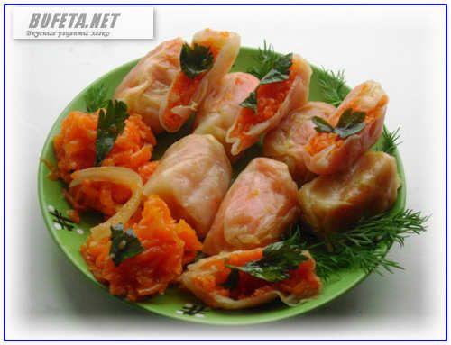 Маринованные овощные голубцы по корейски - Простые рецепты Овкусе.ру