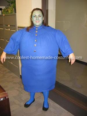 Check out my semi-homemade Violet Beauregarde costume, which was recently published on coolest-homemade-costumes.com!