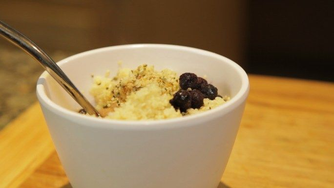 FINAL DAY of our Greet the Sun Morning Yoga Challenge! Day 21: BALANCE with this Millet Porridge Recipe!