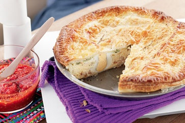 The simplest and tastiest pie you'll ever make. Perfect for a picnic.