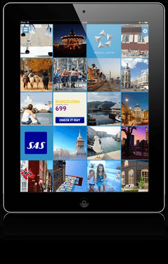 SAS Explore iPad app will inspire you to explore the world together with us.