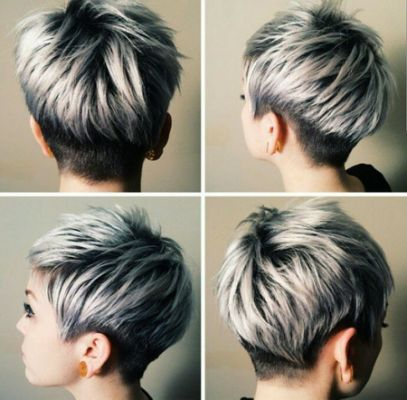 Short Gray Hairstyles 2017 on Pinterest