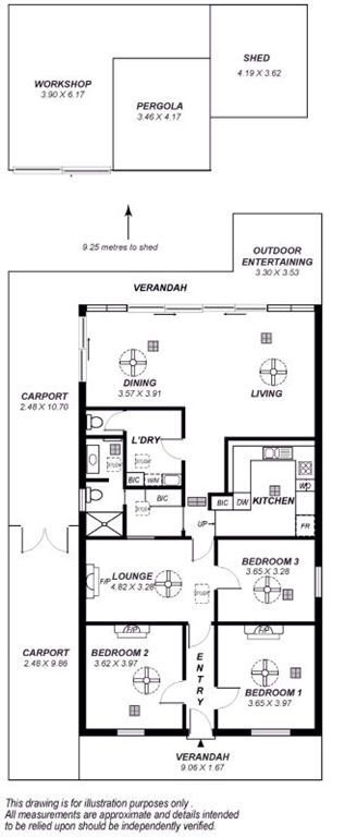 Adelaide cottage floor plans