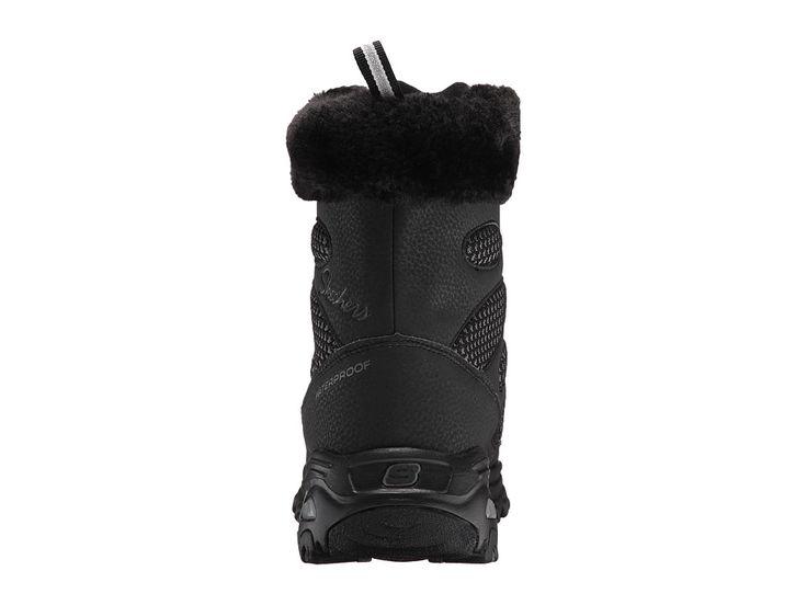 SKECHERS D'Lites - Snow Plaza Women's Cold Weather Boots Black