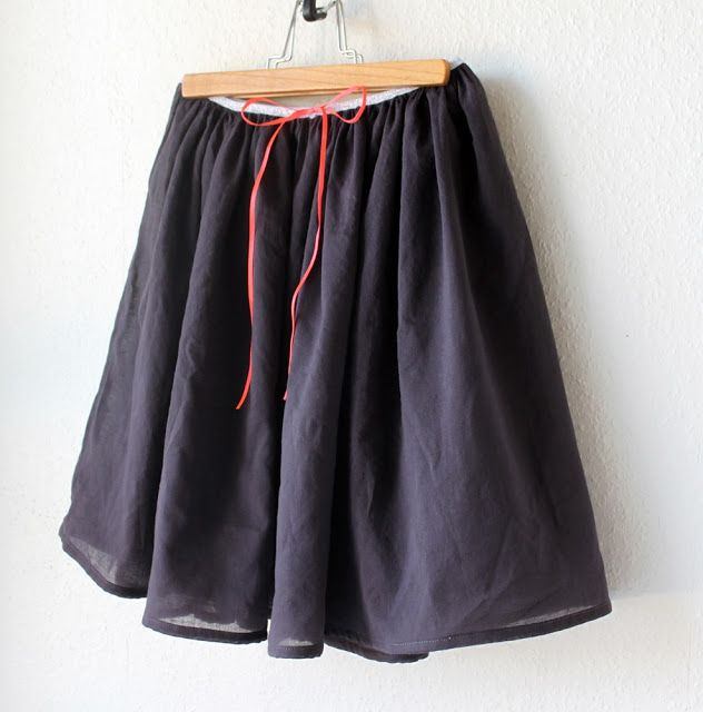 Simple Voile Skirt DIY - Groovybaby....and mama