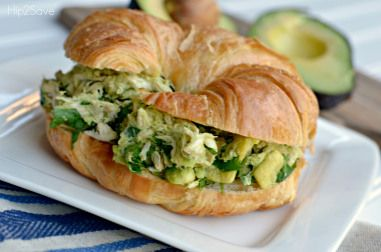 Avacado Chicken Salad Hip2Save