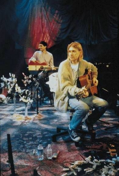 Kurt Cobain and Pat Smear, Unplugged in New York