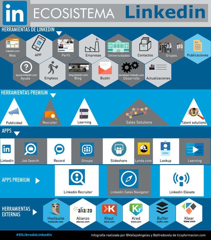 Ecosistema LinkedIn #infografia
