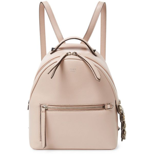 4e70ceea0fb3 Fendi Women s By The Way Mini Leather Backpack - Light Pastel Pink  (26.442.565 IDR) ❤ liked on Polyvore featuring bags