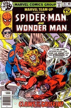 Marvel Team-Up #78 Featuring Spider-Man and Wonder Man Marvel Comics Group February 1979 $.35
