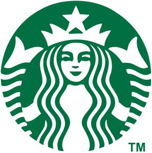 """Starbucks Corporation Logo 2011 onward: In 2006, Valerie O'Neil, a Starbucks spokeswoman, said that the logo is an image of a """"twin-tailed mermaid, or siren as she's known in Greek mythology""""."""