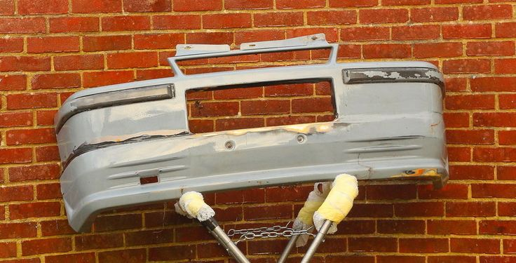 GENUINE ASTRA GTE MK2 FRONT BUMPER WITH LARGE BODYKIT AND MODIFIED