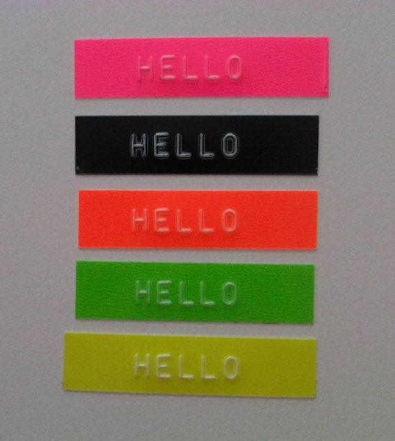 OH MY Motex FLUORO Pack Embossing Label Maker Refill by OHMYBUY, £7,99
