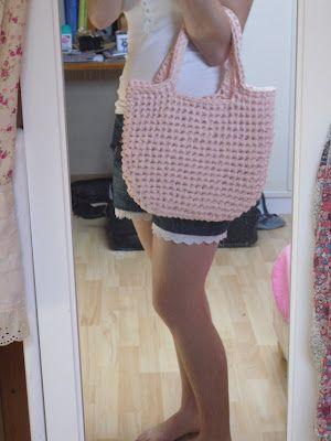 Crochet bag + tuto