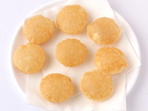 Homemade Puri for Pani Puri - Crispy Golgappa Puri for Chaats - Step by Step photo Recipe