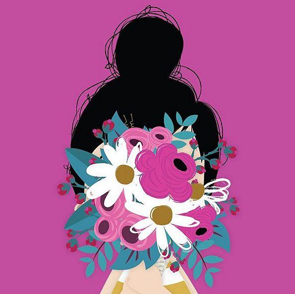 "luiza bione - Wallpaper | ❥""Hobby&Decor""  inspirações! | #wallpaper #art"