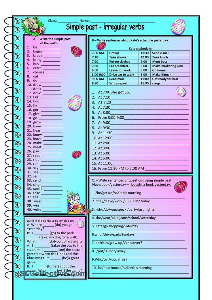 how to teach irregular verbs effectively
