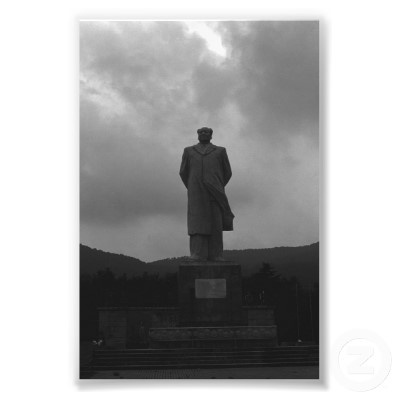 China Changsha Mao Tse Tung statue
