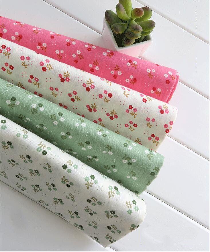 Сад хлопчатобумажная ткань лоскутное шитье детское постельное белье одежда подушка ткани ткань costura tecidos ручной поделки ткань m11 купить на AliExpress