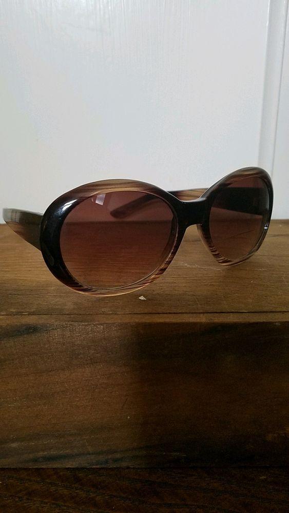 Liz Claiborne Oversized Mod Retro Prescription Women's Sunglasses Frames Only #LizClaiborne #Oversized