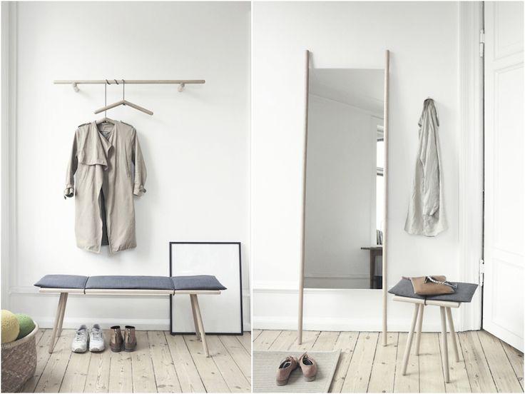 Spejl dig i den nyeste trend Slut med spejle der udelukkende er en praktisk foranstaltning. Brug spejlet som et dekorativt designobjekt i din indretning.