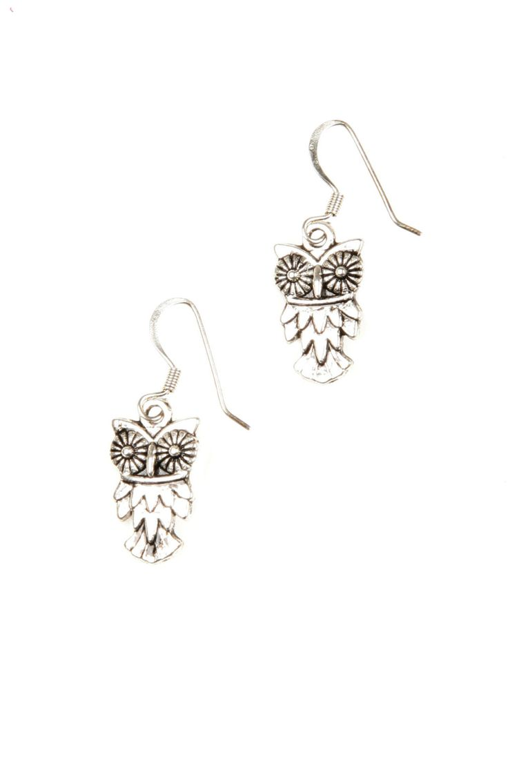 I'm in love with these owl earrings!!! #Owl #Dangle #Earrings