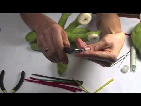 ▶ Filcowanie na sucho - materiały (narzędzia i igły) - YouTube