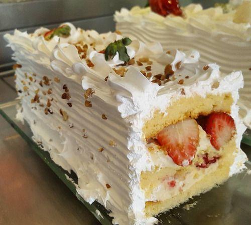 Torta de Morango ZERO AÇÚCAR (em Polos Pães e Doces)