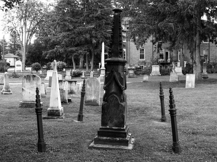 """What happens to this grave at Hallowe'en? See link for story and pics: the """"Witch's"""" Grave. #graveyard #cemeteries #urbanlegend #ghost"""
