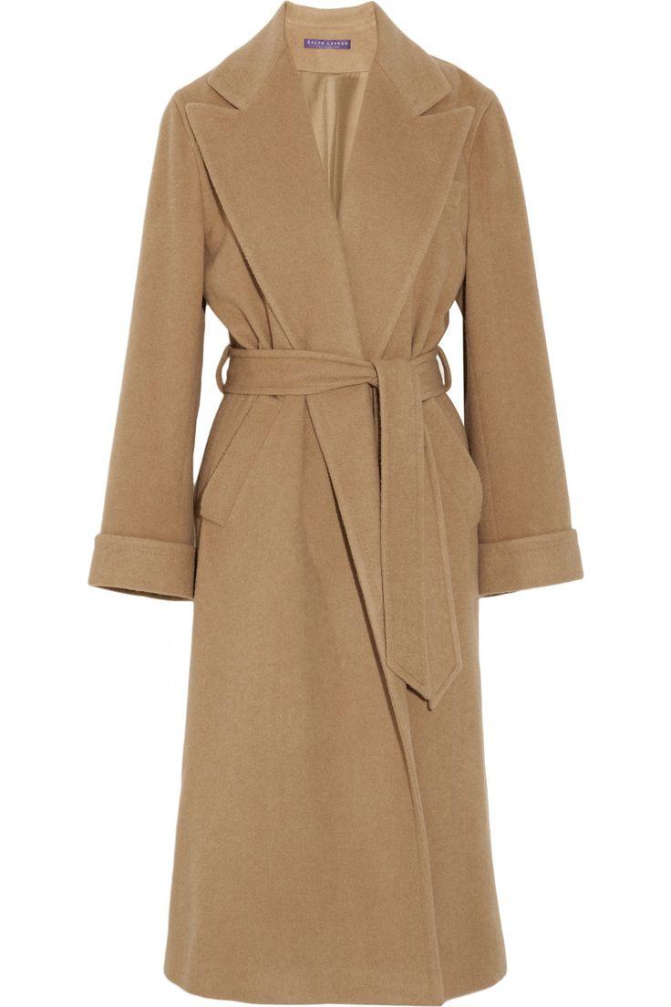 Alexandria camel hair coat by Ralph Lauren Collection