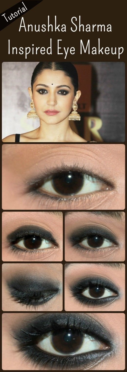 Anushka Sharma Inspired Eye Makeup – Tutorial With Detailed Steps And Pictures
