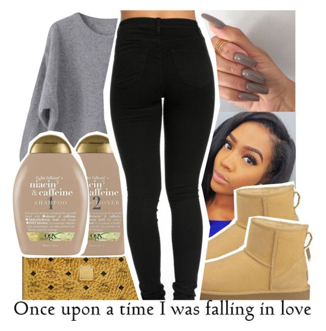 """"""": contest :"""" by tynescloset ❤ liked on Polyvore featuring MCM, Organix and UGG Australia"""