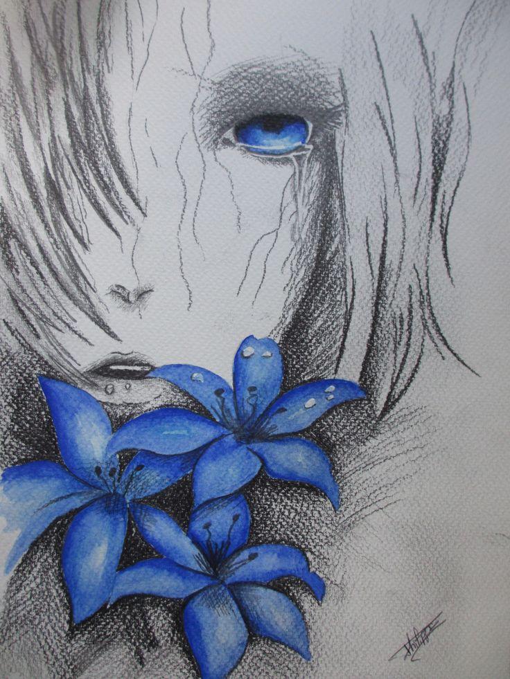 Best 25 visage manga ideas on pinterest dessin manga - Fleurs a dessiner modele ...