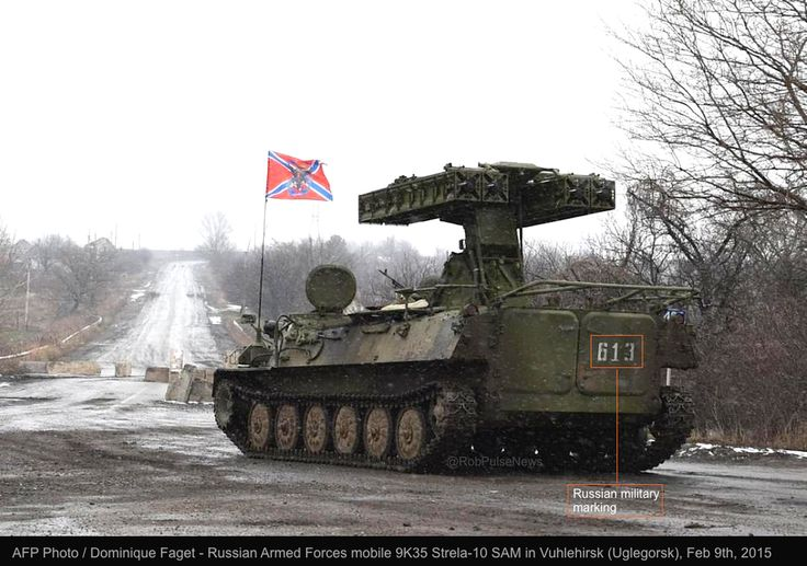 US afraid to supply Ukraine arms. While the #Russia|n army simply flies the flag of a fake country in #Ukraine today