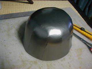 Armadura de acero: Lo primero es el patrón de papel de la cabeza. En esta etapa es cuando se decide como se va a hacer el patrón, que tal ...