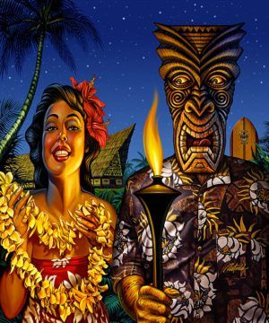 THE ART OF TIKI:21st Anniversary Art of Tiki Show & No False Idols Exhibition: Oct 6-29 Book release & signing party 6-8PM Artist Reception 8-11PM Friday, October 6