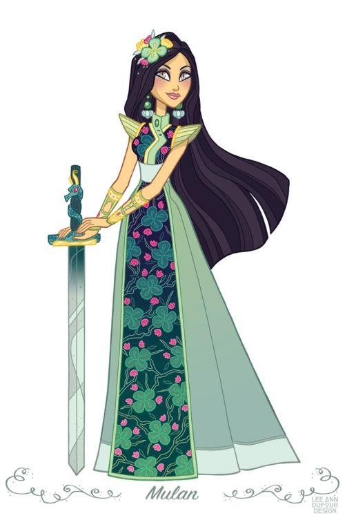 Mulan By Lee Ann DuFour Design
