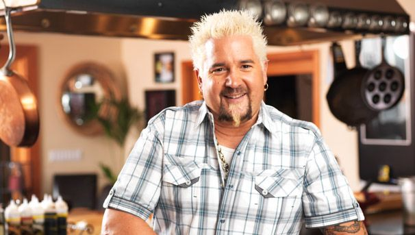 Chef Guy Fieri cooks Grilled Salmon Gyros on The Talk show 5-17-13
