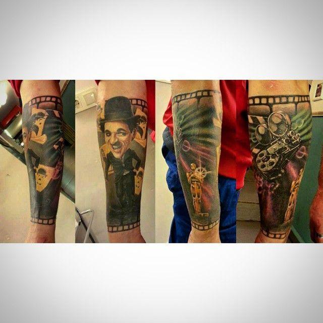#tattoo #kadikoy #eksi2tattoo #istanbultattoo #dovme #kadikoytattoo #ink #inked #colourfultattoo #armtattoo #dövme #besttattoo #tatted #tattoos #originaltattoo #follow4follow #f4f #followus #instatattoo #chaplintattoo #charliechaplin #movietattoo #illustrationtattoo #filmtattoo #kadıköy #tattoostudio #bodyart #bodytattoo #realistictattoo #cooltattoo