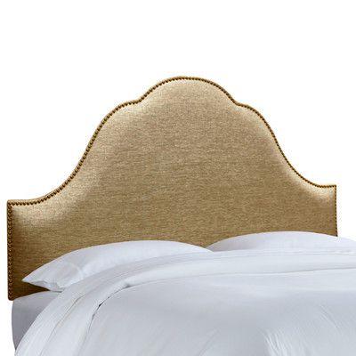 ДОПОЛН Skyline Furniture Nail Button Glitz Arch Headboard   Wayfair