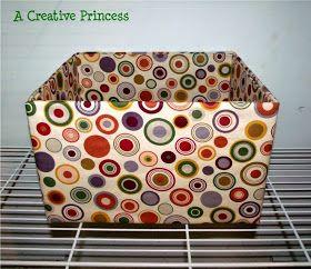 50 Ιδέες για κουτιά και καλάθια ντυμένα με ύφασμα ή χαρτί!